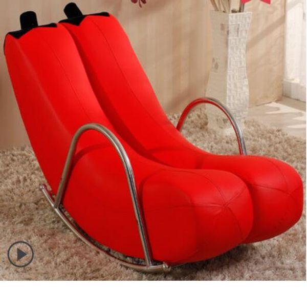 High Quality Brand new Banana Rocking Chair New Sofa one pcs / CTN 6 Colors Single Chair G22