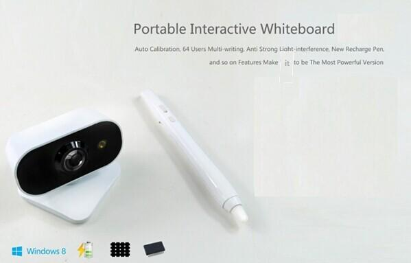 Multi touch digital smart board portable infrared interactive whiteboard for children education and presentation
