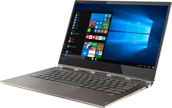"Lenovo - Yoga 920 2-in-1 13.9"" Touch-Screen Laptop - Intel Core i7 8GB Memory 256GB Solid State Drive 360 flip-and-fold"