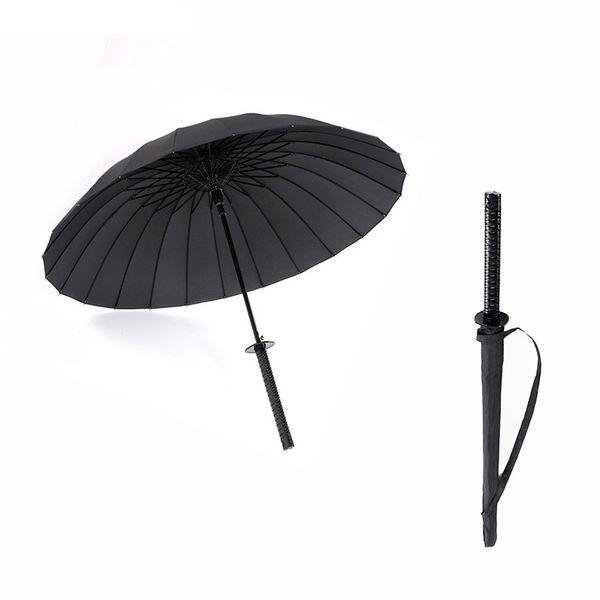Venda quente Homens Guarda-chuva Qualidade 24 K. 16k. 8 k forte à prova de vento Semi automático guarda-chuvas Longo Lidar Com Umbrella Parapluie das Mulheres