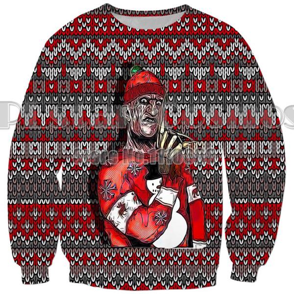2019 YX GIRL Newest Christmas 3d hoodies Men/women Sweatshirts Christmas gift Funny monkey Trump Print Long sleeve Tracksuits