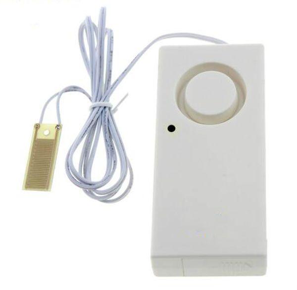Wasserleck Alarm Detektor 130dB Wasser Alarm Lecksensor Erkennung Überschwemmungsalarm Überlauf Home Security Alarm System