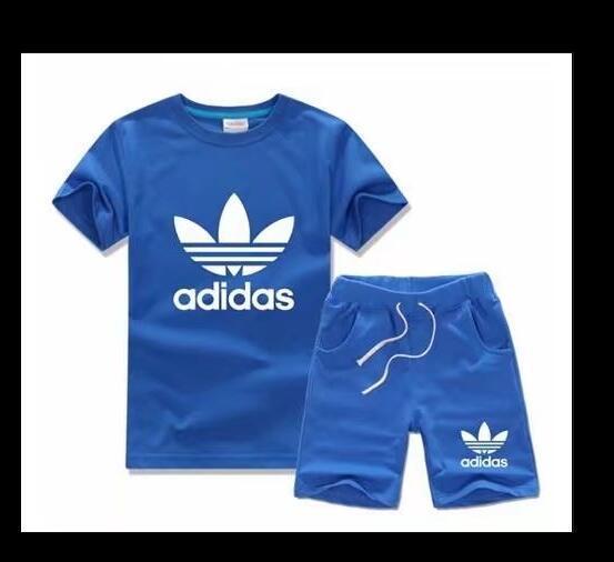 CC Best-sellingBrand2018 Kinder Sets 2-7T Kinder T-Shirts und kurze Hose Kinder Trainingsanzüge