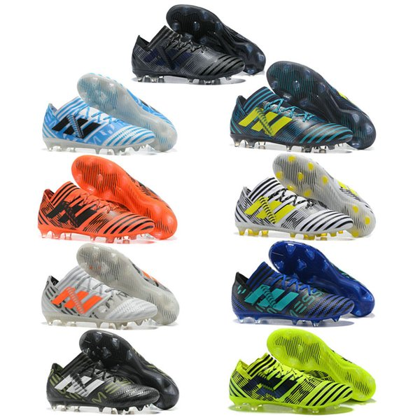 Shoes 68 Fashion TOP Colors Quality TOP New Men Lawn From Mabelshoes44 2019 Shoes Sports MEMEZIZ 1 Soccer Nine Outdoor ACE TF Football 17 Nail e2W9IDEHY