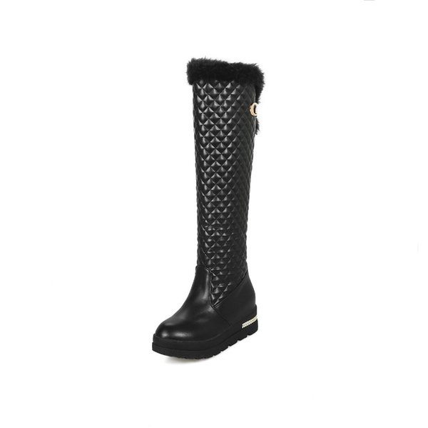 Joker 2018 autumn/winter collection leisure flat size 43 yards 33 - tall canister boots female of 18105