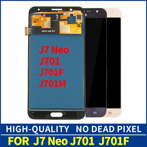 High-quality For Samsung Galaxy J7 Neo J701F J701M J701MT J701 LCD Display Panel Module + Touch Screen Digitizer Sensor Glass Assembly