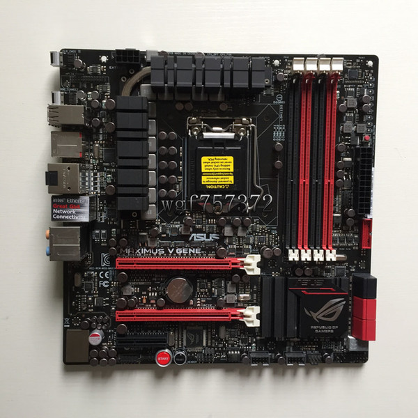 For Asus M5G MAXIMUS V GENE Desktop Motherboard LGA 1155 Z77 Intel HDMI SATA 6Gb/s USB 3.0 Systemboard