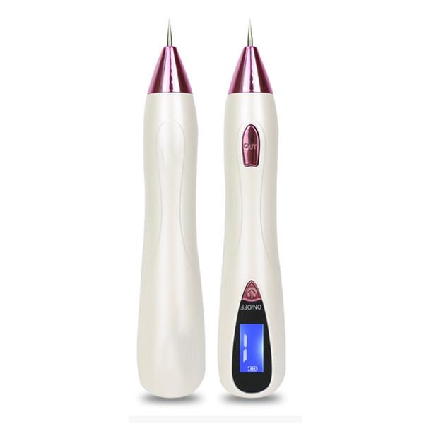 Nova chegada 9-gears elétrica facial beleza toupeira remoção a laser varredura caneta no local da pele do laser máquina de remoção de toupeira