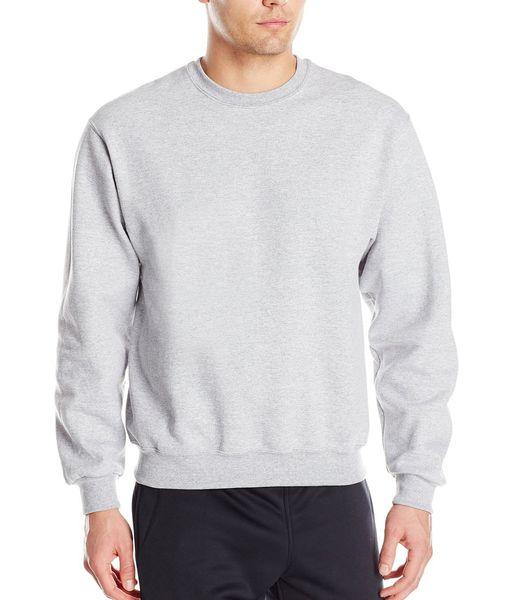 Hombres de color sólido sudadera 2018 otoño invierno nuevo clásico sudaderas con capucha de lana de alta calidad casual simple estilo básico pullover hombres