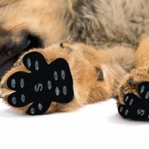 Nakefit Summer Dog Foot Paste Aislamiento térmico Resistencia a los arañazos Estera de la puerta Antideslizante Dog Stick Pet Beach Shoes 4 5fs ff