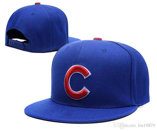 2018 New Hot Fashion Cubs c letter Men Women Baseball Caps Casquettes Spring Summer Sun Hats for Women Solid Snapback Cap Wholesale Dad Hat