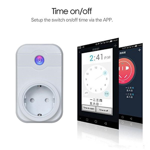 Smart Home Wifi Power Plugs Compatible With Alexa Sonoff Wifi Socket Outlet  Automation Phone App Timing Switch Remote Control Eu Us Plug Power Plug
