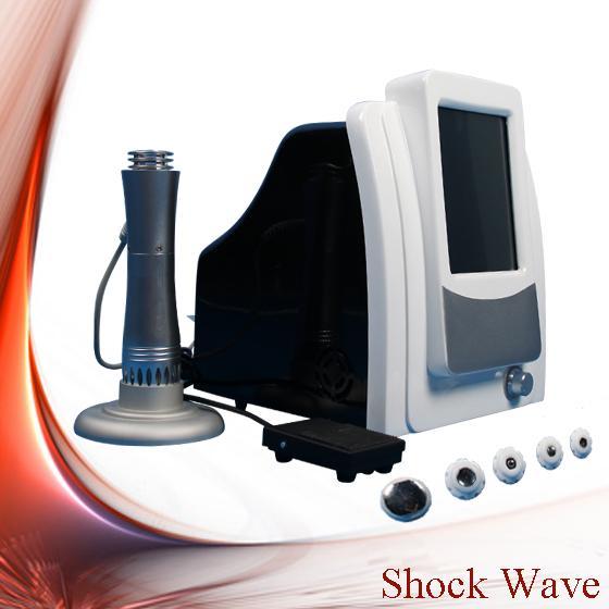 2018 allemand importé Compresseur choc machine à vagues 5 Bar Shockwave Therapy Machine de choc extracorporelles thérapie par ondes Équipement CE