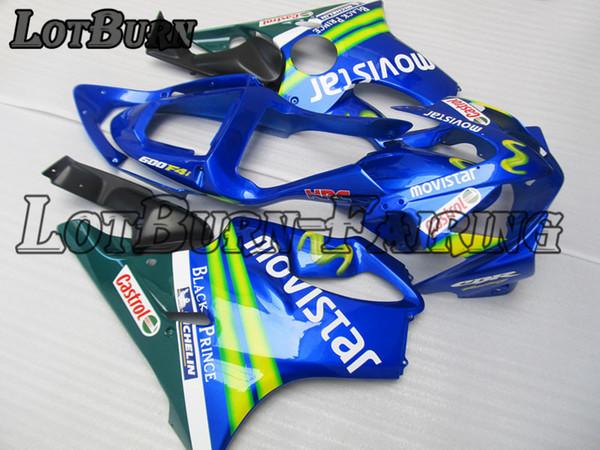 Plastic Fairing Kit Fit For Honda Cbr600rr Cbr600 Cbr 600 Rr F4i 2001 2003  01 03 Fairings Set Custom Made Motorcycle Bodywork C172 Cheap Fairing Kits