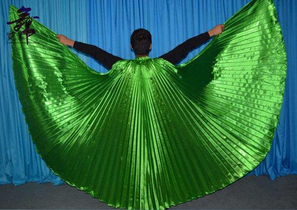grün offenen Flügeln
