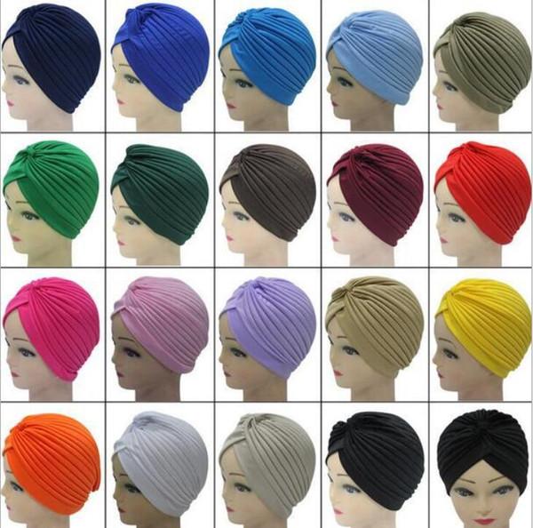 Unisex India Cap Women Turban Headwrap Hat Skullies Beanies Men Bandana Ears Protector Hair Accessories free shipping
