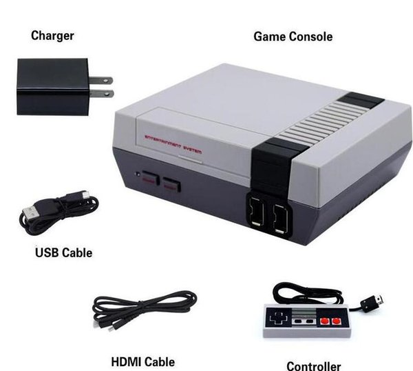 best selling Mini HDMI Game Console Video Handheld for NES games consoles with retail box free shipping