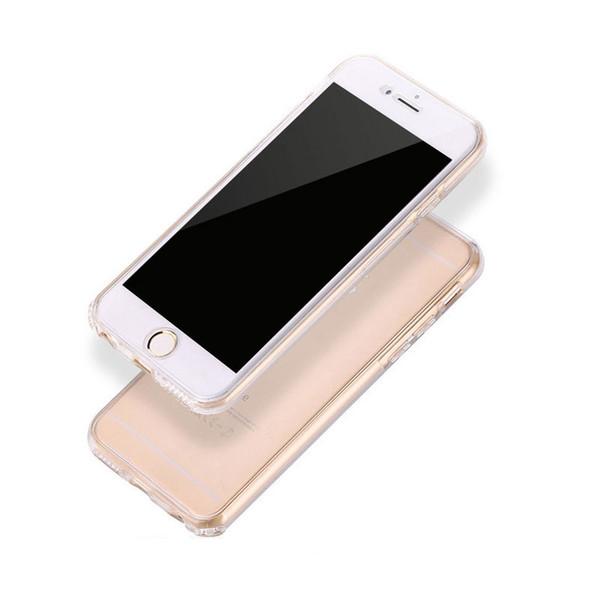 1 teil / los Ganzkörper weicher TPU Fall für Samsung Galaxy S4 S5 S6 S7 Silikon Fall für Galaxy S6 Rand S7 Anmerkung 8 Rand Telefonabdeckung + Ring Halterung