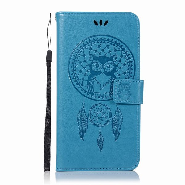 3D Embossed Phone Flip Case For Samsung Galaxy A6 Plus 2018 Case Wallet Leather Case Cover A6 2018 Funda A6Plus Caso