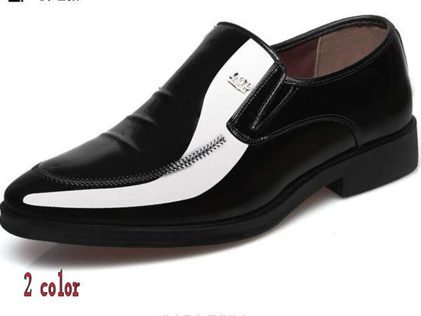 High quality, men's business shoes, brown black dress shoes, leisure shoes Wedding shoes 37-44 h 59