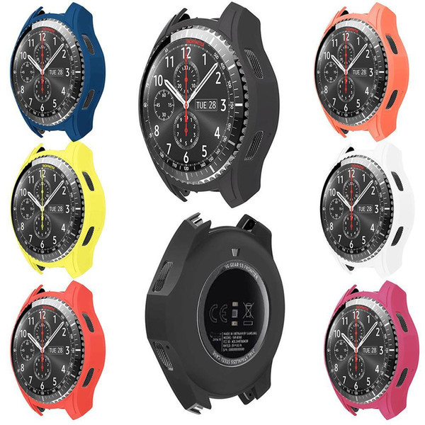 Silicone Protective Protector Case Cover Shell For Samsung Gear S3 Frontier Smart Watch