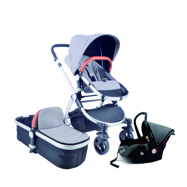 High Quality Deluxe Doll Stroller with Carrier