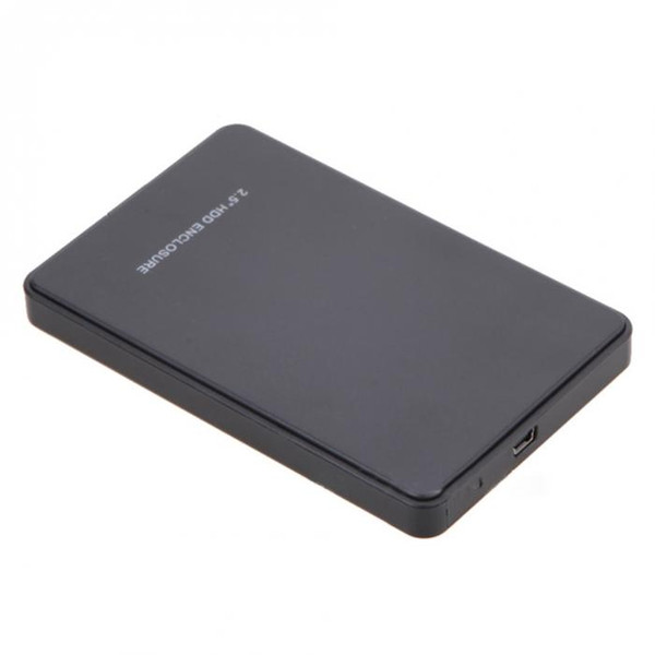 Nouveau disque dur externe de 2,5 pouces SATA externe SSD 2TB USB 2.0 HDD boîtier QJY99