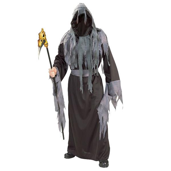 Мужской хэллоуин темный костюм косплей взрослый человек ужас смерти вампир хэллоуин косплей