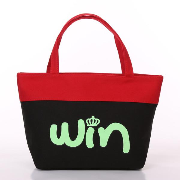 European and American fashion handbags environmental protection large capacity shopping bags canvas women bag manufacturers direct sales