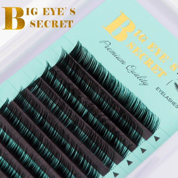 Big eye's secret Luxury Soft Silk C D L curl 8-15mm 100% handmade Individual lashes False eyelashes