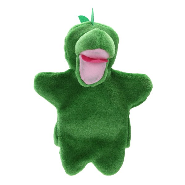 Cute Dinosaur Hand Puppet Baby Kids Sleep Story Accessory Hand Doll Puppet Soft Doll Plush Toy Child Show Play FCI#