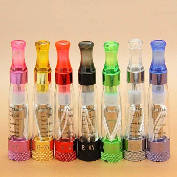 Newest Colorful VAPE CE3 CE4 CE6 Atomizer Mini Tank Ego EGO-T EVOD EGO Pen Mounthpiece Clearomizer Vaporizer High Quality Hot Sale DHL Free