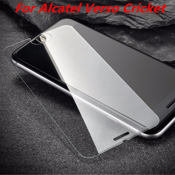 Tempered Glass For Alcatel Verso Cricket For Alcatel Zip Kora For Coolpad Revvl Plus Screen Protector Film without retail package C