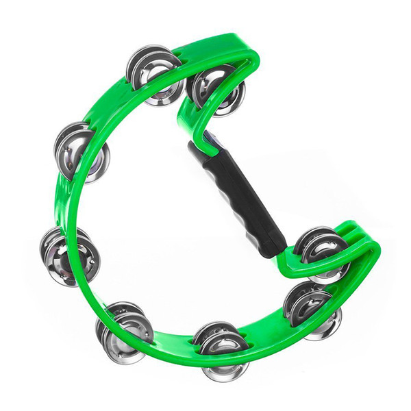 best selling Single Row Tambourine for Kids and Adults - Comfortable Hand Held Percussion Instrument - Great for Choirs (Church) - Percussi