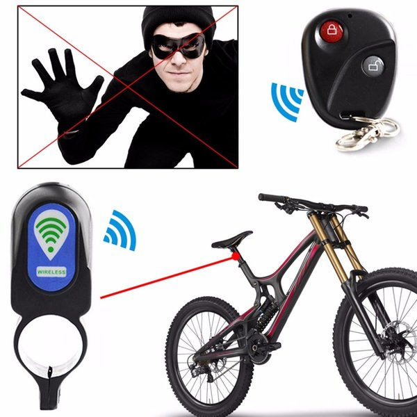 Wireless Anti-theft Bicycle Cycling Alarm Lock Security Lock Remote Control NEW