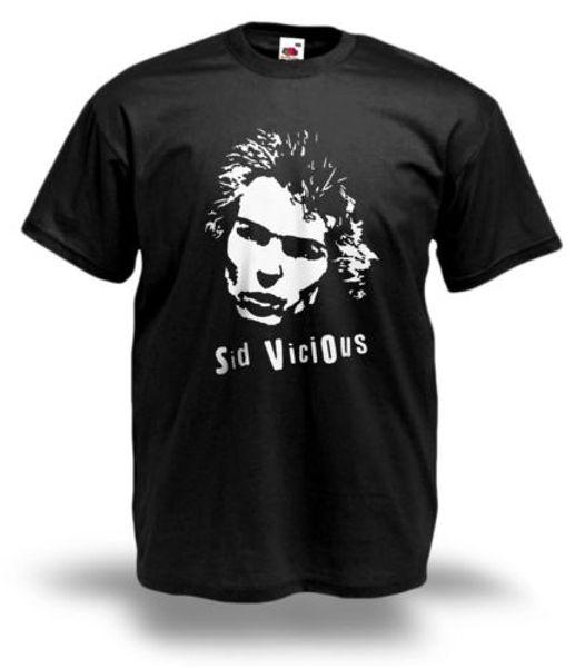 2018 Высокое качество Марка Мужская футболка Мужская SID VICIOUS футболка SEX PISTOLS 1977 панк-рок Все размеры 100% хлопок Классическая футболка