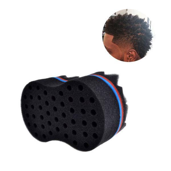 New Magic Hair Style Brush Barber Hair Sponge Brush Make Dreads Locking Twist Wave DIY Tool Coil Afro Curl