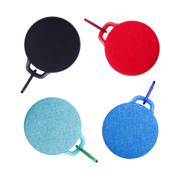 X5 Mongolia Cloth Art Wireless Bluetooth Speaker Portable waterproof Mesh Cloth Buckle Outdoor Handsfree Call Speakers for Iphone Android
