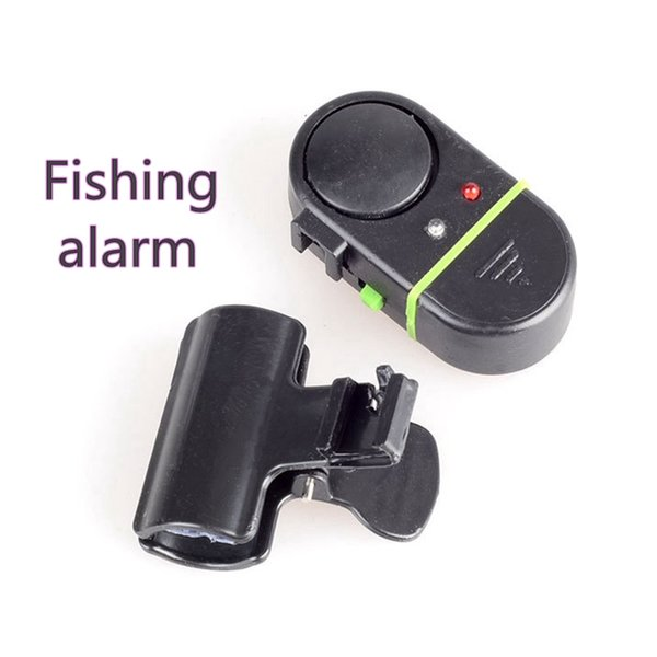Free Shipping,Upgrade, Waterproof, Fishing Alarm, Sea Pole, Electronic Alarm, Electronic Bell, Sound and Light Alarm.