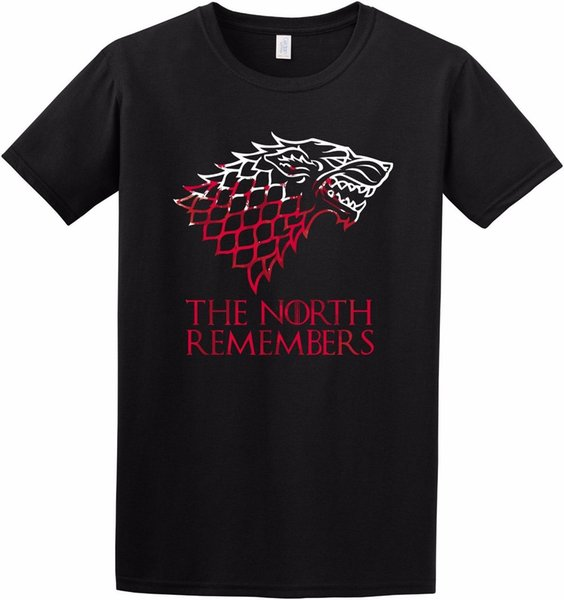 """/""""The North Remembers/"""" Game of Thrones Inspired T Shirt S to 2XL"""