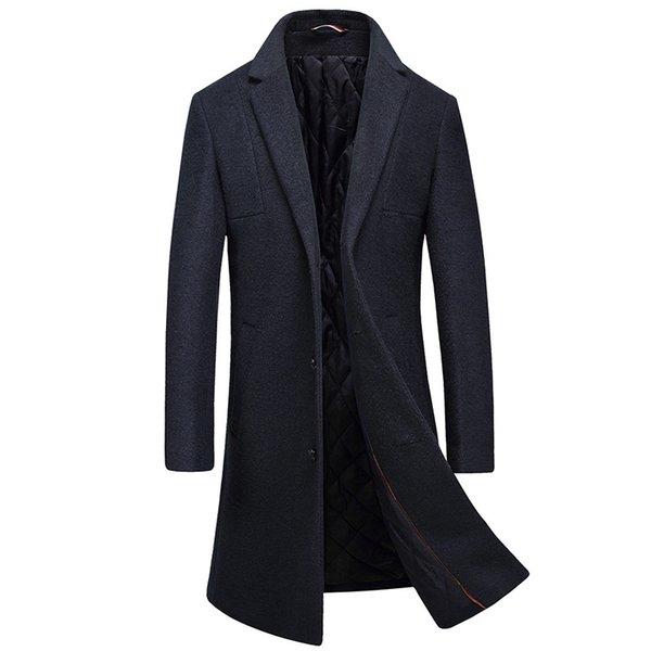 Mens Winter Wool Coats And Jackets Long Sport Button Slim Fit Coats Cotton Clearance Mens Parka Big Size Green