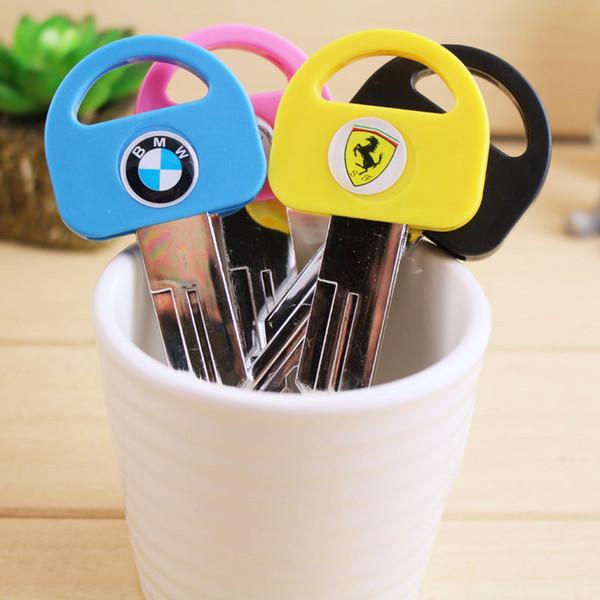 1pcs/sell 0.7mm Cute Kawaii Key Model Black Ballpoint Pens For Office Stationery School Writing Office School Supplies
