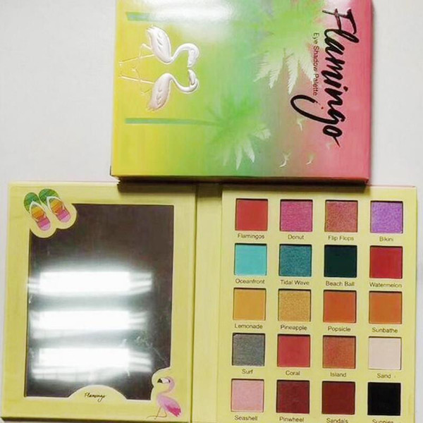 New Hot Makeup VV Natural Ultimate Flamingo Eyeshadow Palette 20colors Eye Shadow Christmas gift Cosmetics Palette DHL shipping