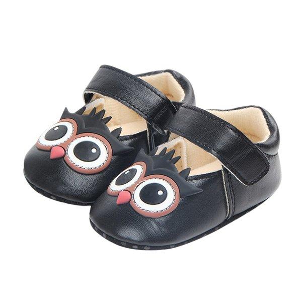 MUQGEW Yenidoğan Bebek Ayakkabı Yürüyor Boy Kız Karikatür Kendi kaymaz Sevimli Yumuşak Sole Rahat Ayakkabılar PU Pamuk Auttmn Ayakkabı Çocuklar Için