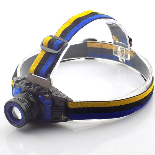 Powerful Q5 Headlamp Rechargeable Zoomable Focus Frontale Led Head Lamp Flashlight Torch Headlight For Fishing Camping +Charger