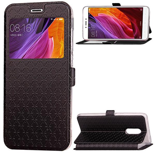 apri la cassa del telefono Window per xiaomi redmi note 4x cassa redmi4x soft tpu copertura in pelle di vibrazione griglia Ling cover redmi 4x custodia