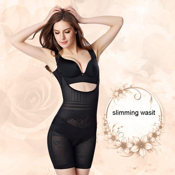 Women's Tummy Control Underbust Slimming Underwear Shapewear Body Shaper Control Waist Cincher Firm Bodysuits Belly Slim Sheath