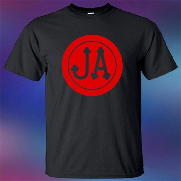 Novo JEFFERSON AIRPLANE Banda de Rock Legend T-Shirt Impresso Em Torno Dos Homens T Shirt Preço Barato Top Tee Camisa de Filme