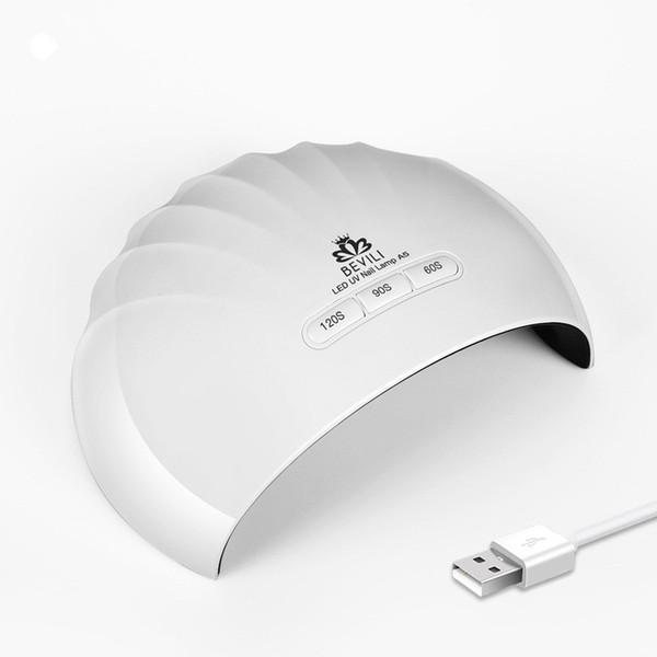 36W USB LED UV Lamp Nail Dryer For Curing Nail Dryer Gel Polish Lamp 110V-240V Led For Art Manicure Tools