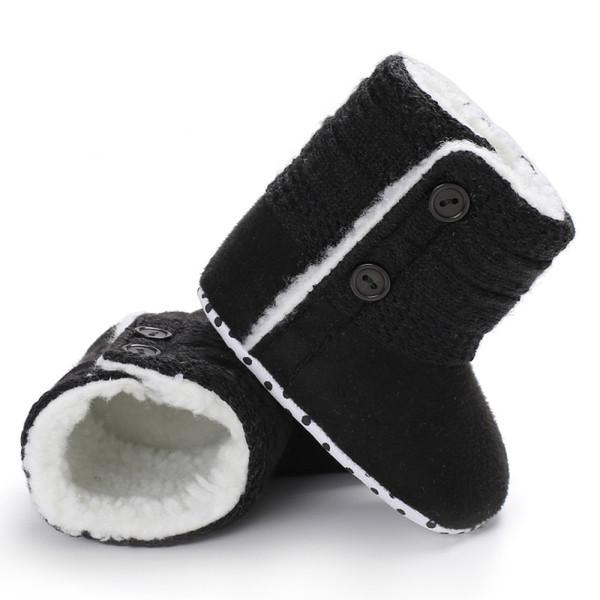 Acheter Bottes De Neige À Fond Mou Hiver Bottes De Crochet Et À Look Chaud Bébé Coton Bébé De $42.39 Du Universecp   DHgate.Com